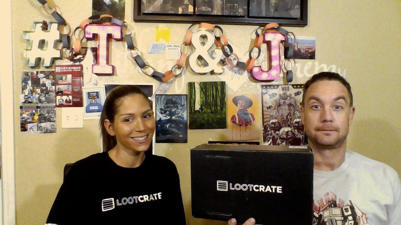 loot crate september 2016 subscription boxes pinterest crates
