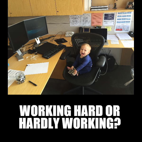 Working hard or hardly working? - Serious Babies | Fairy