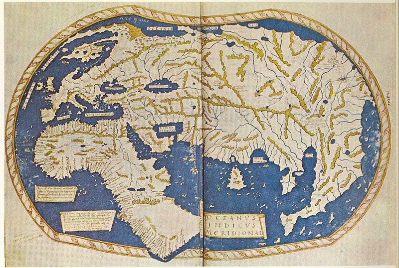 15th Century World Map 15th Century World Map | Martellus World Map of c. 1490. (Dias