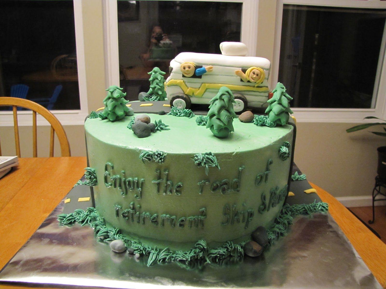road+of+retirement+cake.jpg (1600×1200)