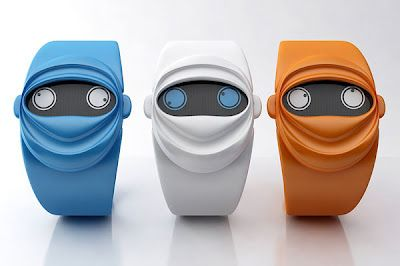 Ninja Time Watch: has 2 eyes that shows the hour and the minutes