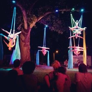 Cycropias Performance At Orton Park >> Aerial Silks With Cycropia Aerial Dance At The 2014 Orton Park