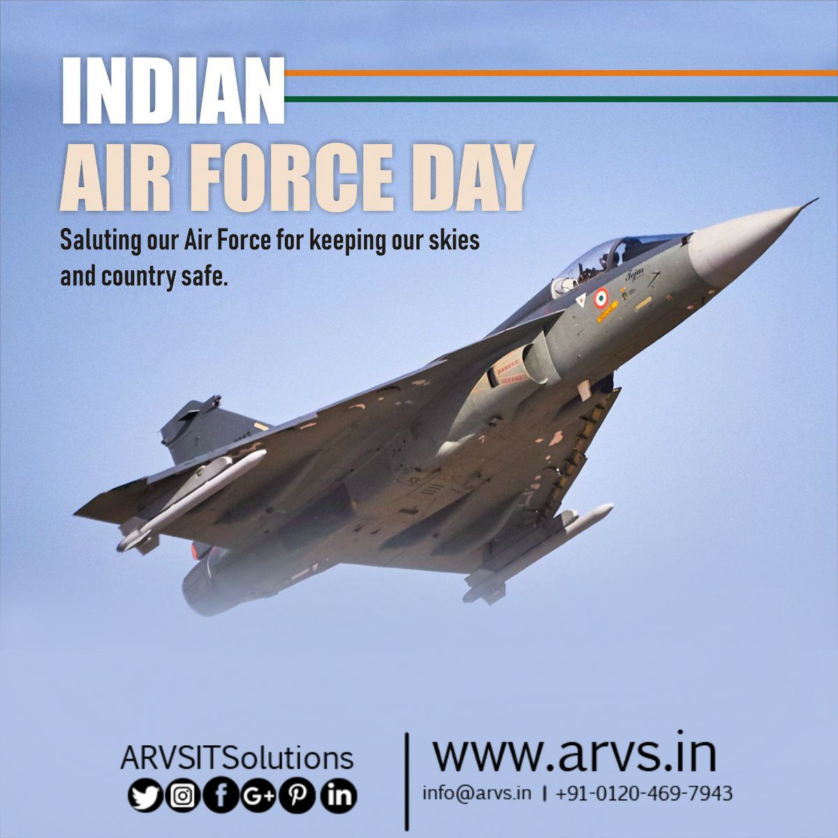 Saluting our IndianAirForce for keeping our skies and