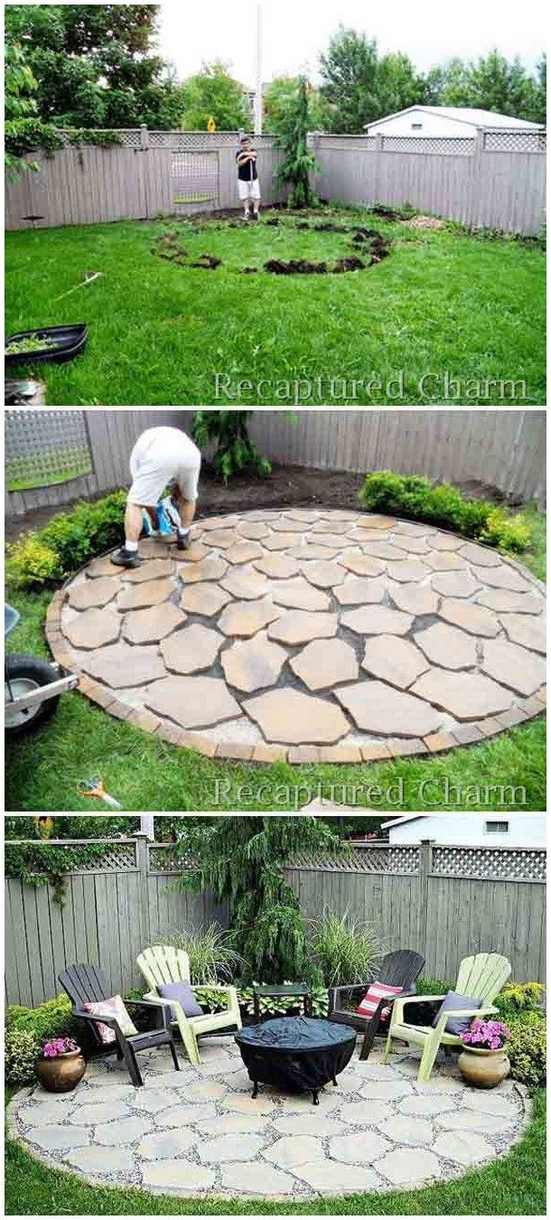 Easy And Simple Landscaping Ideas Garden Designs Drawing Cheap Pool For Backyard Front Yard Low Maintena
