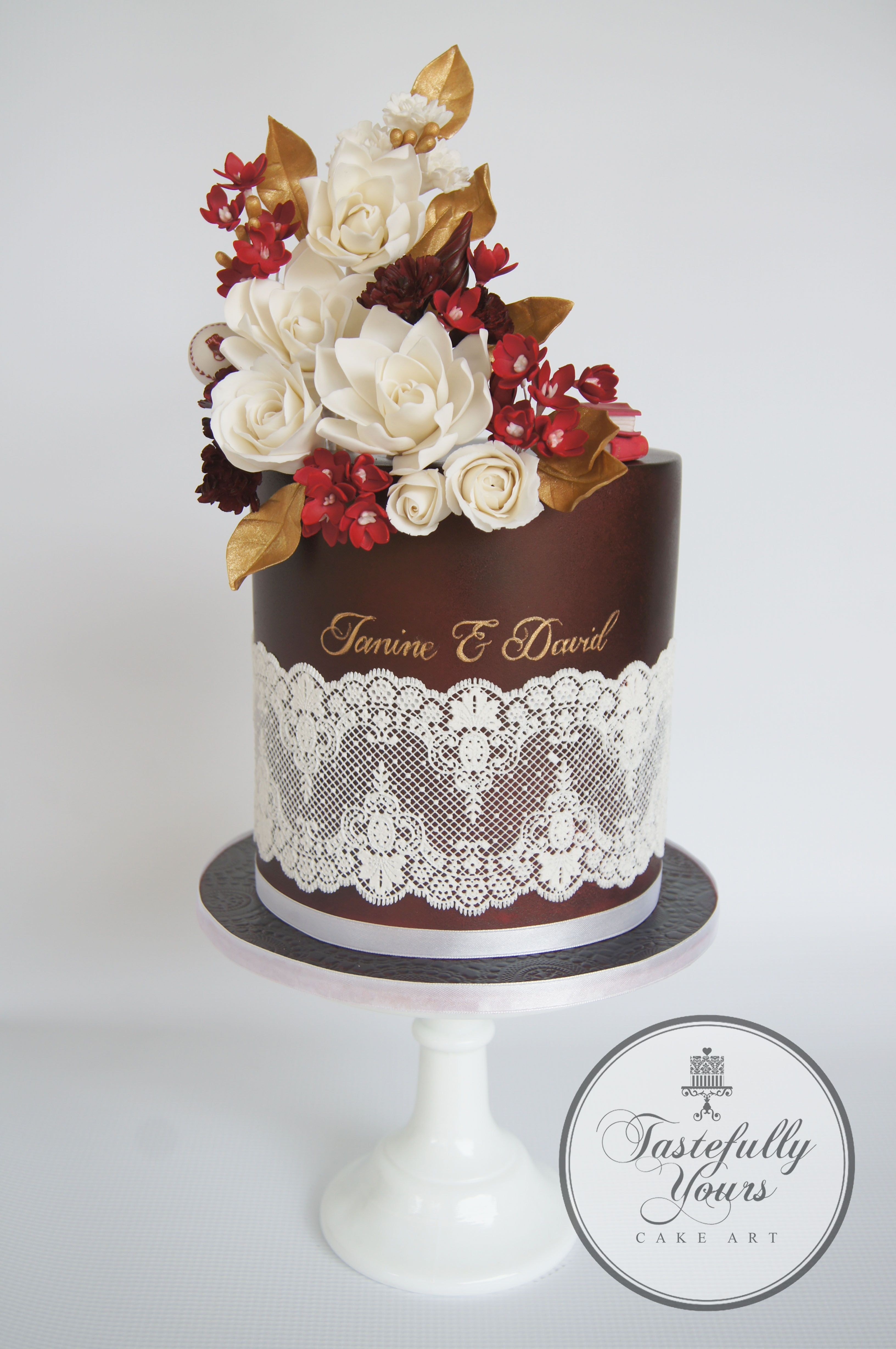 Ruby wedding anniversary - 40 years | cAkes | Pinterest | Ruby ...