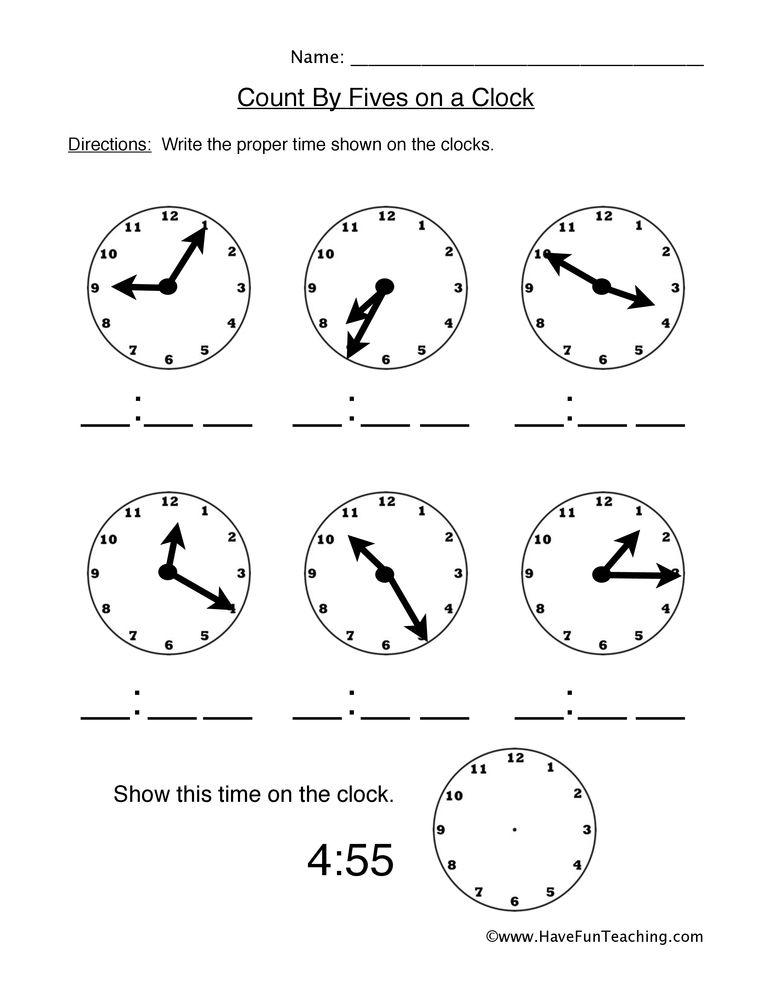 Fun Telling Time Worksheets Telling Time Worksheets Telling Time Activities Time Worksheets