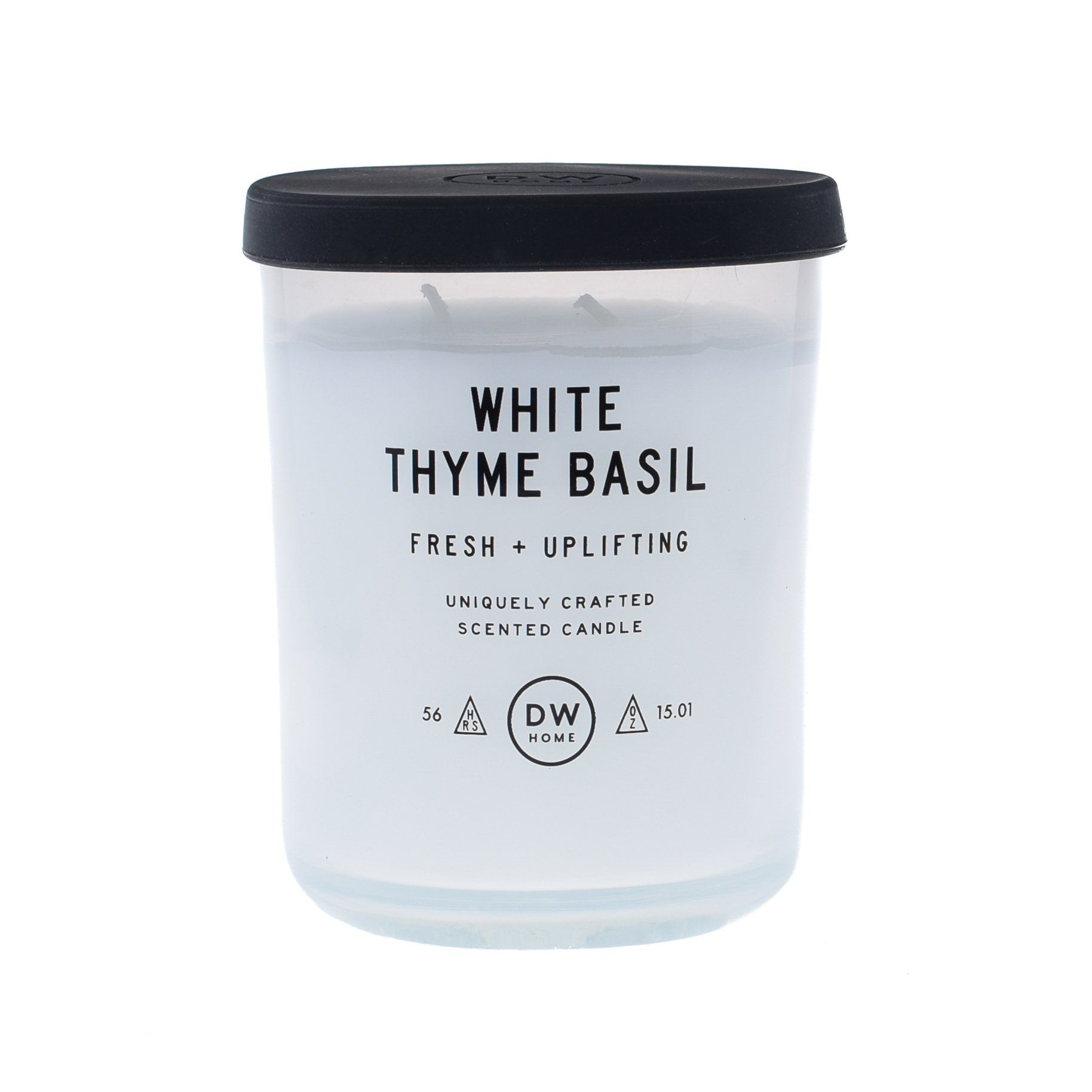 White Thyme Basil Dw Home Scented Candles Tet7000 Tet7007 With