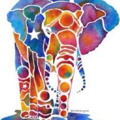 Easy Watercolor Art - Rubber Cement Resist - Persia Lou