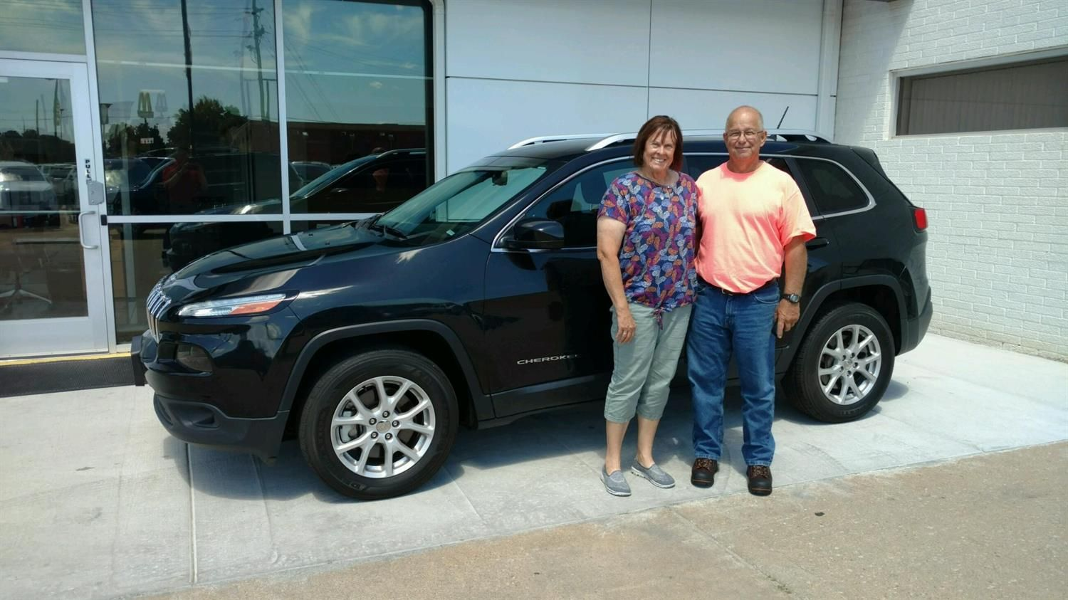 Jim And Judy S New 2014 Jeep Cherokee Congratulations And Best