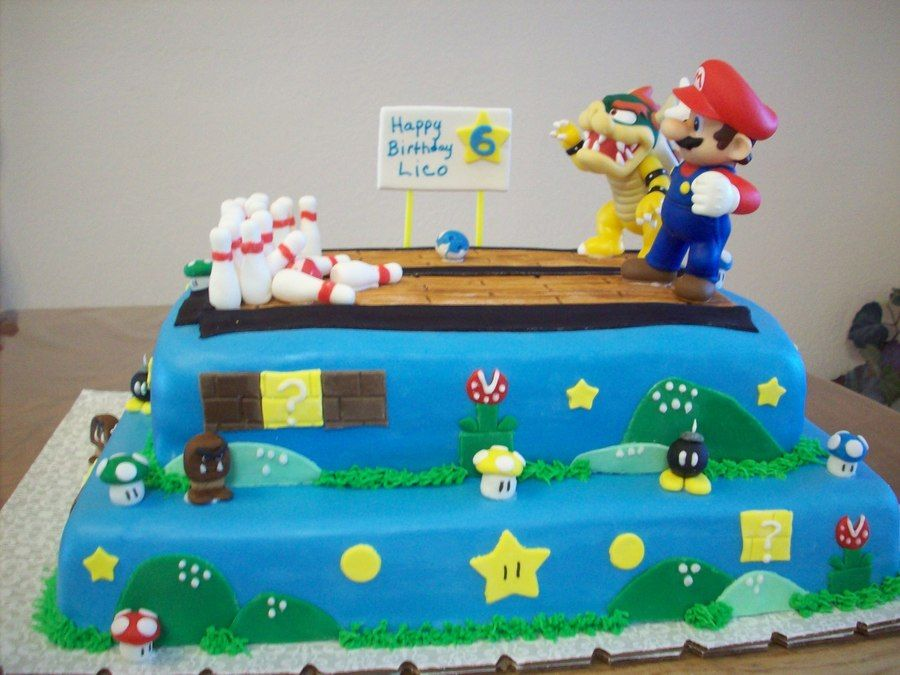 super mario bowling cake food and drink pinterest cake