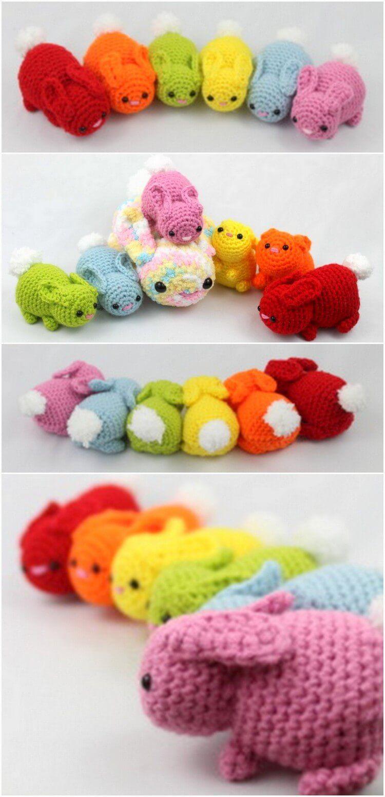 DIY Crochet Amigurumi Puppy Dog Stuffed Toy Free Patterns ... | 1550x750