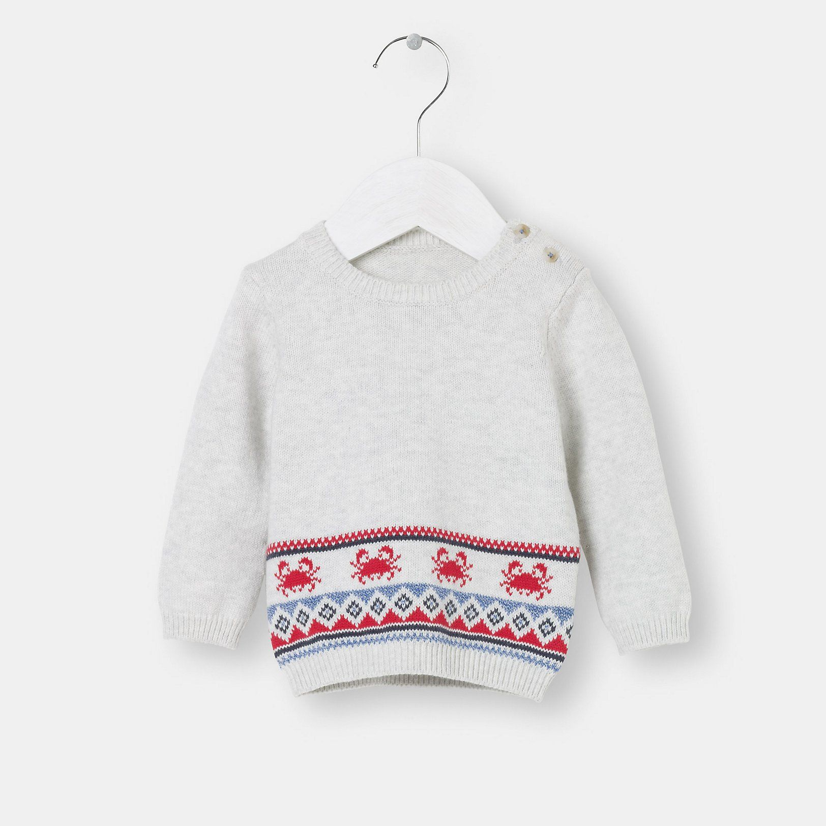 The Little White Company Crab Motif Sweater $46.00 | Prince George ...