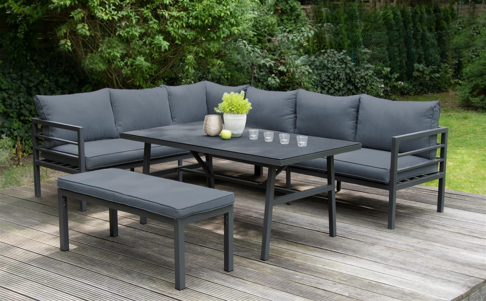 Aluminium Lounge Maia Von Bellavista Home Garden Lounge Mobel Gartenmobel Sets Gartenmobel