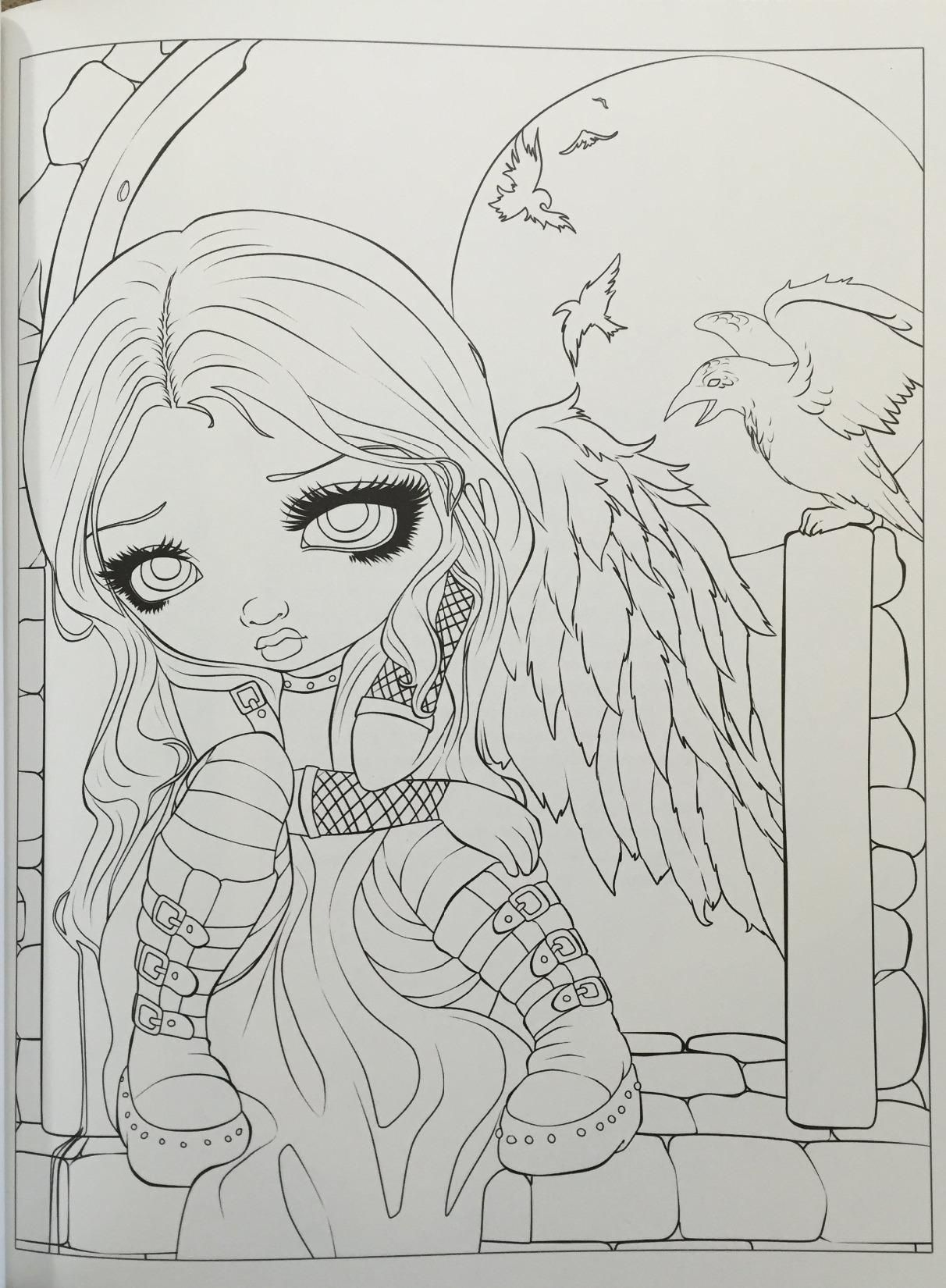 66 Coloring Book Jasmine Becket Griffith Free Images