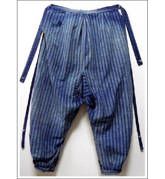 Japanese Farmer's Monpe, Gardening Pants