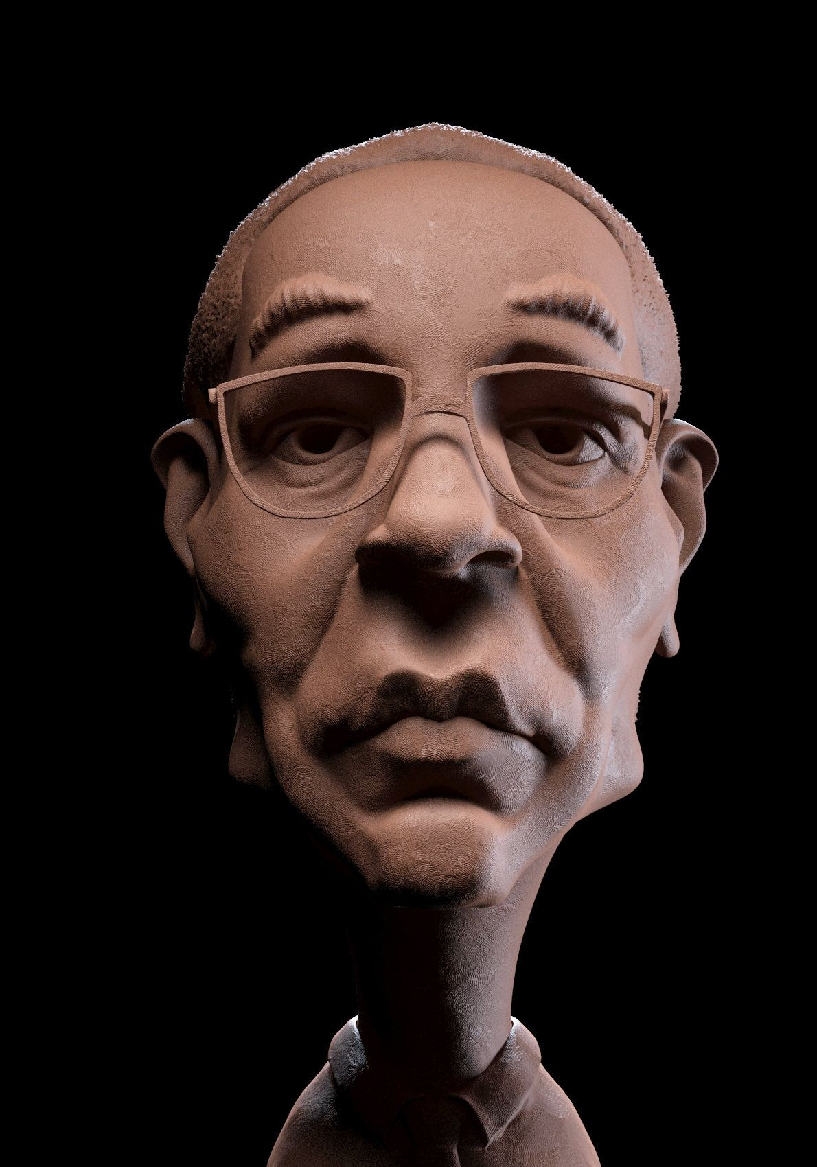 ArtStation - Gus Fring, Guzz Soares | Art em 3D Guzz Soares ...