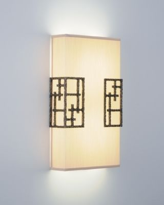 Wall sconce from Boyd LIghting, through the Baer Group, Suite 212
