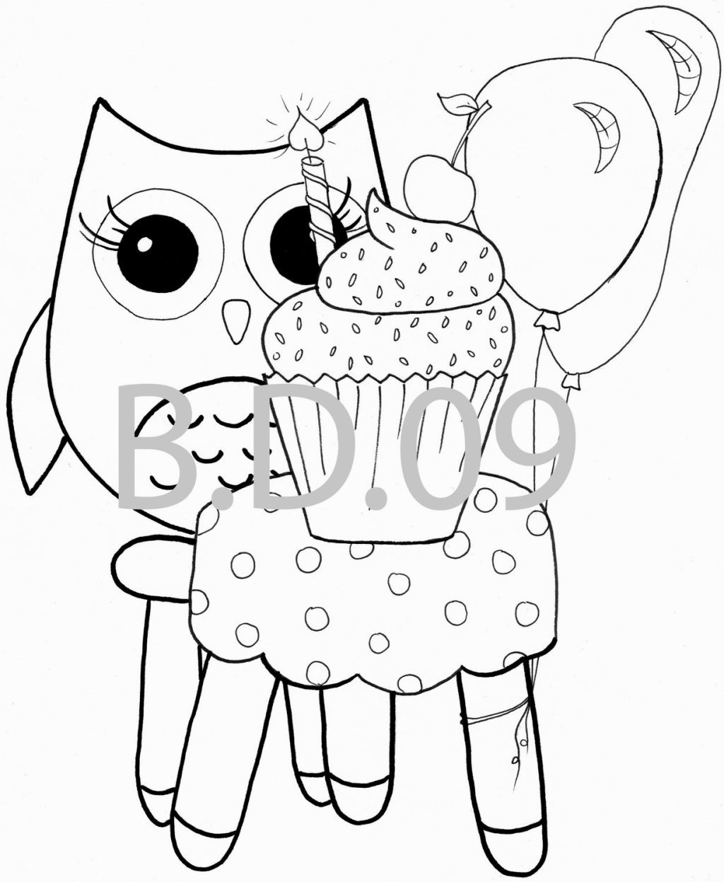 Owl Printable Coloring Pages | Coloring Pages | Pinterest