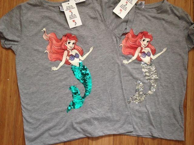 Official Disney Little Mermaid Ariel Ladies T-Shirt