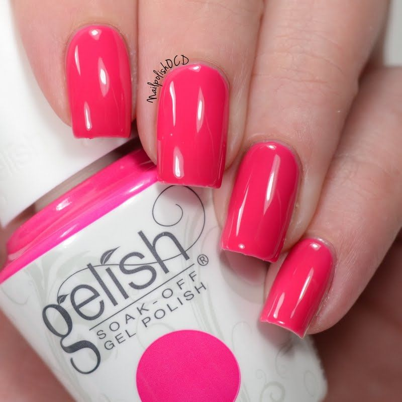 Opi Infinite Shine You Can Count On It Dress Up Your Nails In Style In This Of The Moment Mani By Jessica Using Her Gifted Gelish Soak Off Gel Polish In Woke Up T Nail Polish Gel Polish Nail Harmony