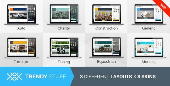 TrendyStuff v1.3 – Multiconcept WordPress Theme