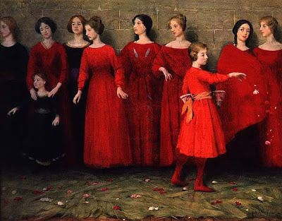 The Kissed Mouth: The Strange Girls of Thomas Cooper Gotch