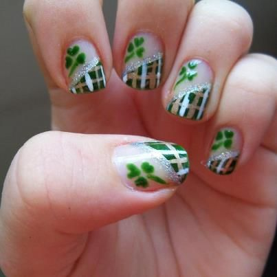 St Patricks Day 2013 Nail Art Designs Manicures For Irish