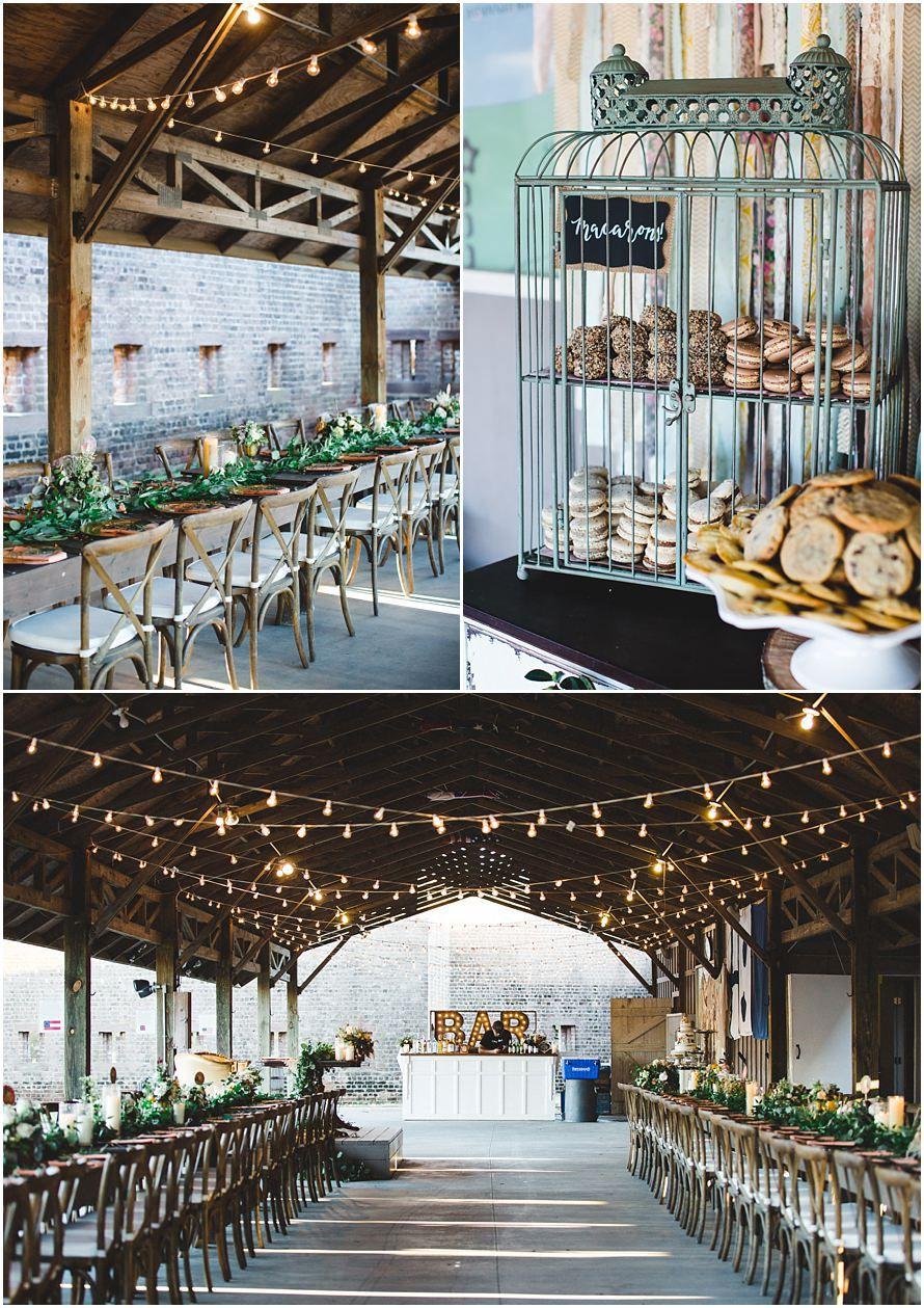 Fall Savannah Wedding at Forsyth Park & Fort Jackson