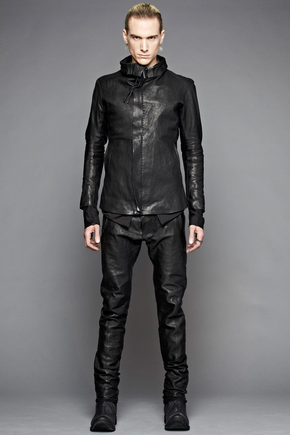 Boris Bidjan Saberi has produced a capsule collection for Atelier New York. The curious fact is that all of the leather pieces are made completely by hand in Saberi's atelier in Barcelona.