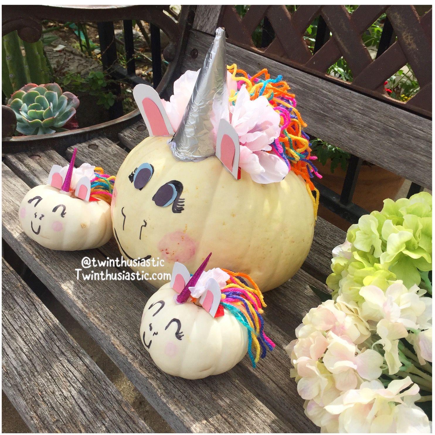Unicorn Pumpkin ideas