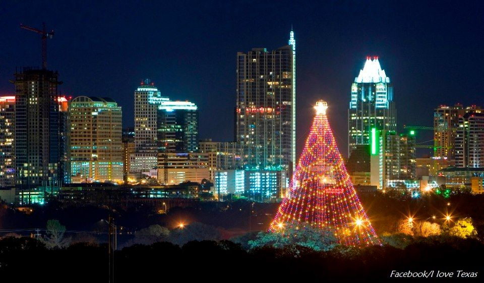 Austin - the Spiral Christmas Tree in Zilker Park - Austin - The Spiral Christmas Tree In Zilker Park Christmas