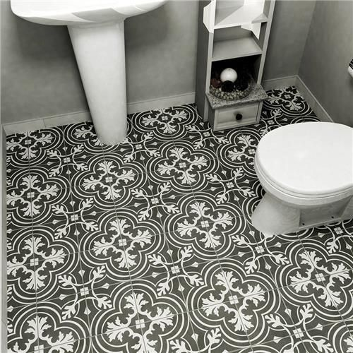 7 75 X7 75 Twenties Classic Ceramic Wall And Floor Tile Ceramic Floor Flooring Tiles For Less