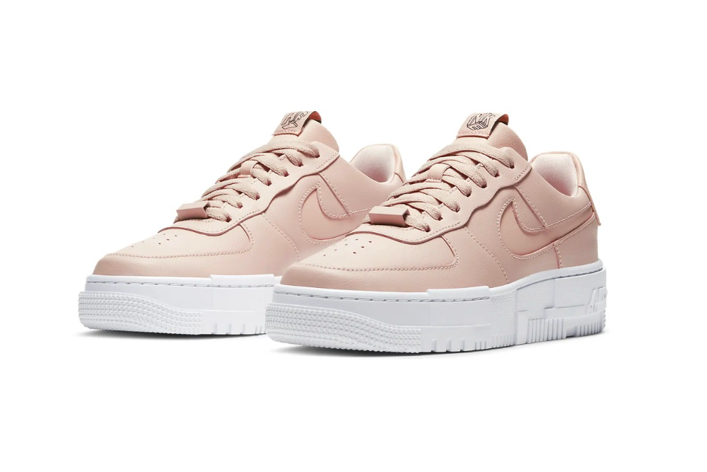 Nike Reveals Another Air Force 1 Pixel In Beautiful Particle Beige Nike Air Force Nike Air Nike