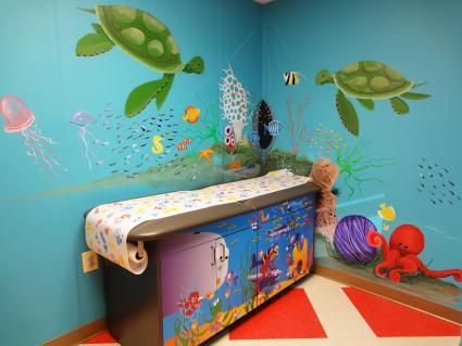 Photo of Pediatrician Ocean theme