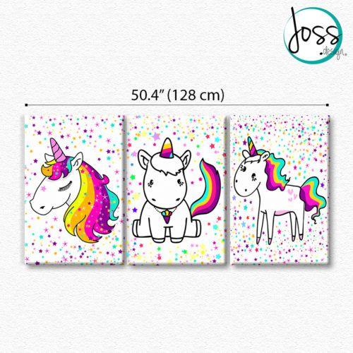 Resultado de imagen para cuadros unicornios infantiles - Fotos para hacer cuadros ...