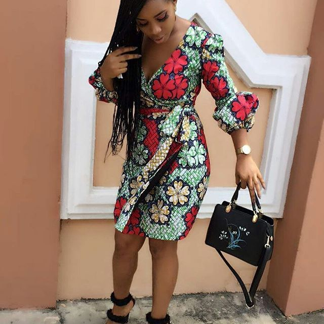 d0d0d0878a879 2018 Ankara Wrap Gown Styles for Beautiful Ladies This Month | Mel's ...