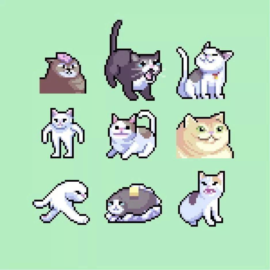 Cat Meme Pixel Art Buscar Con Google Cool Pixel Art Pixel Art Pixel Art Pattern Pixel art food anime pixel art food art aesthetic gif pink aesthetic cute pixels gifs cute lisa frank stickers foto gif. cat meme pixel art buscar con google