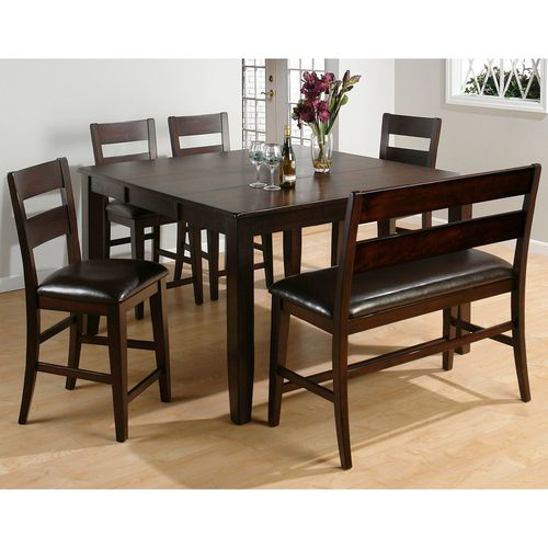 Jofran Chadwick Counter Height Table With Corner Bench And: Anne Counter Height Table W/ Stools By Jofran 972-62 Just