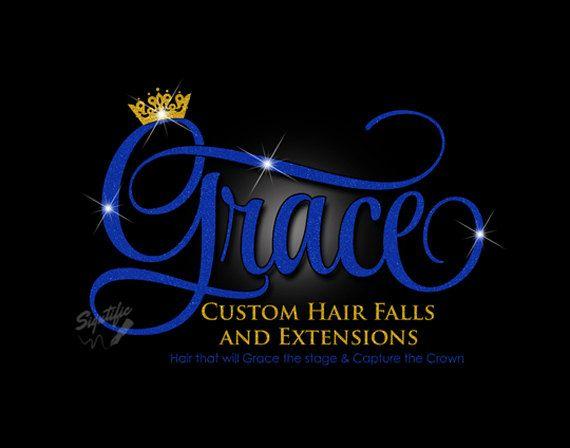 Glitter bling hair extensions logo custom hair by signtificdesigns glitter bling hair extensions logo custom hair by signtificdesigns pmusecretfo Choice Image