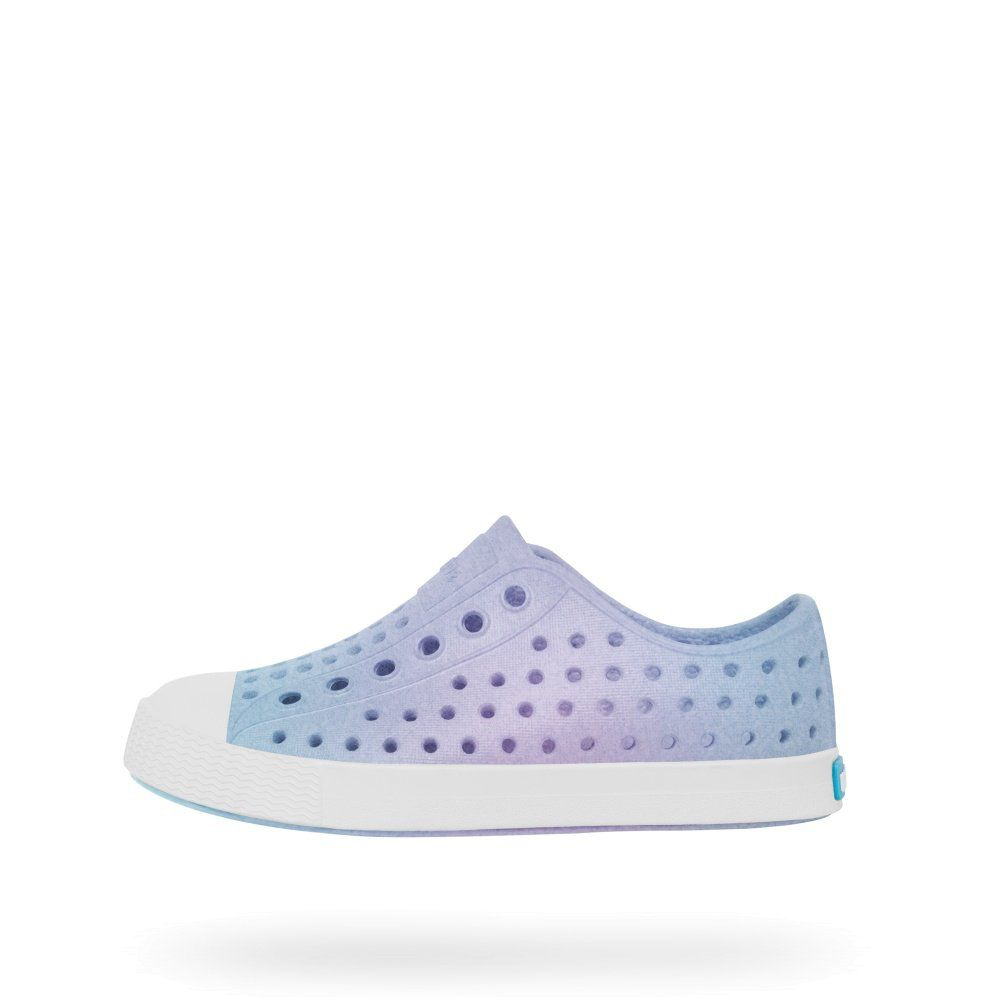 Native Shoes Kids Jefferson Iridescent Pigeon Grey / Galaxy Tiny Style  Noosa, Australia