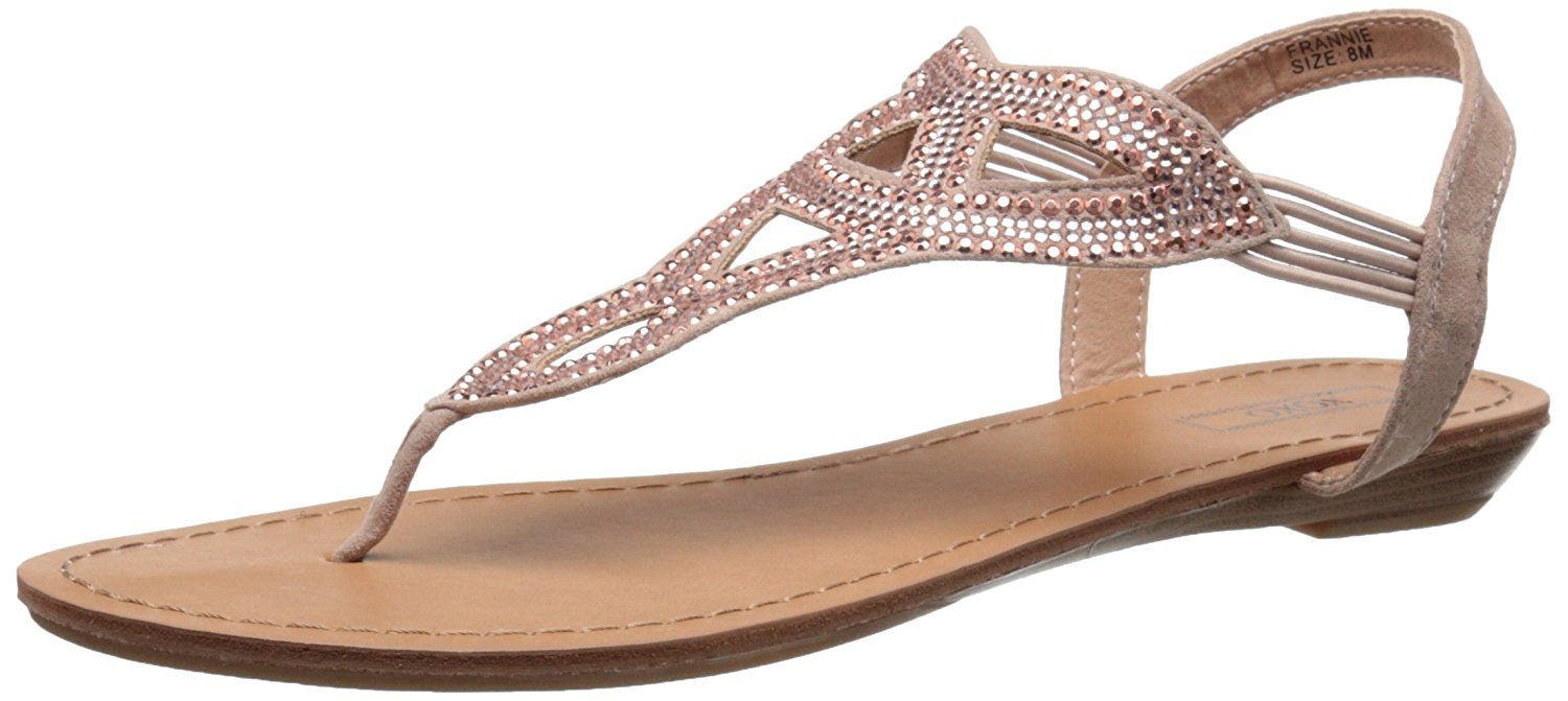 XOXO Women's Frannie Flat Sandal -- You can find out more details at the  link