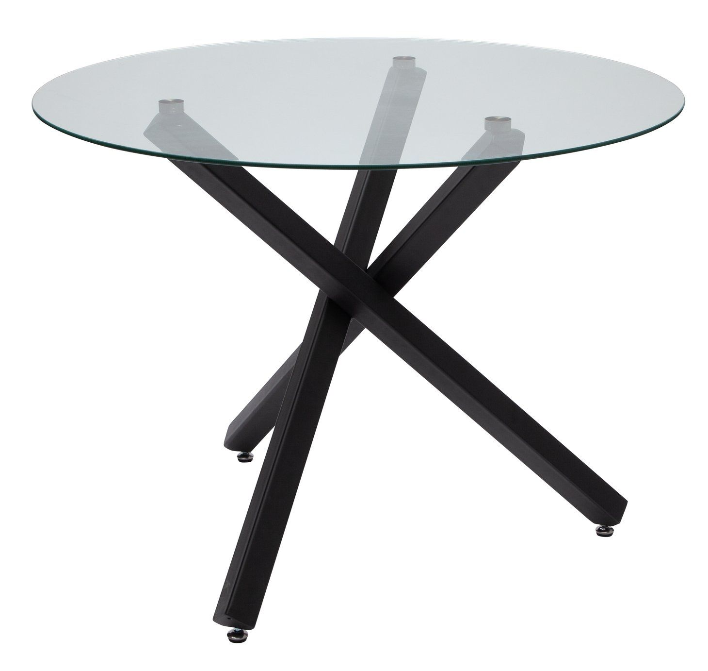 Argos Home Ava Glass 4 Seater Round Dining Table Glass Round Dining Table Round Dining Table Round Dining [ 1382 x 1460 Pixel ]