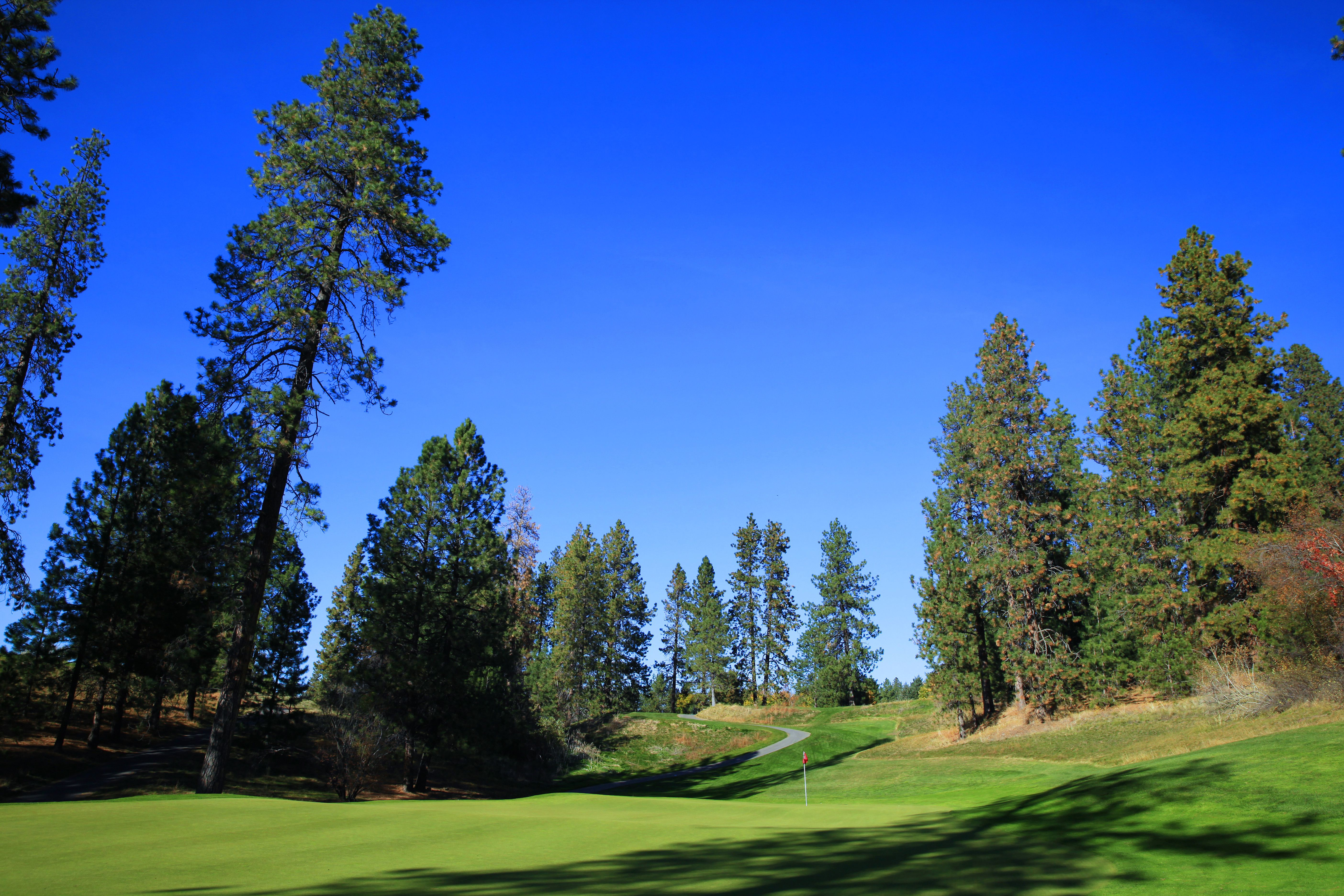 Liberty Lake Golf Course Hole 16 Golf Courses Golf Inspiration Golf Vacations