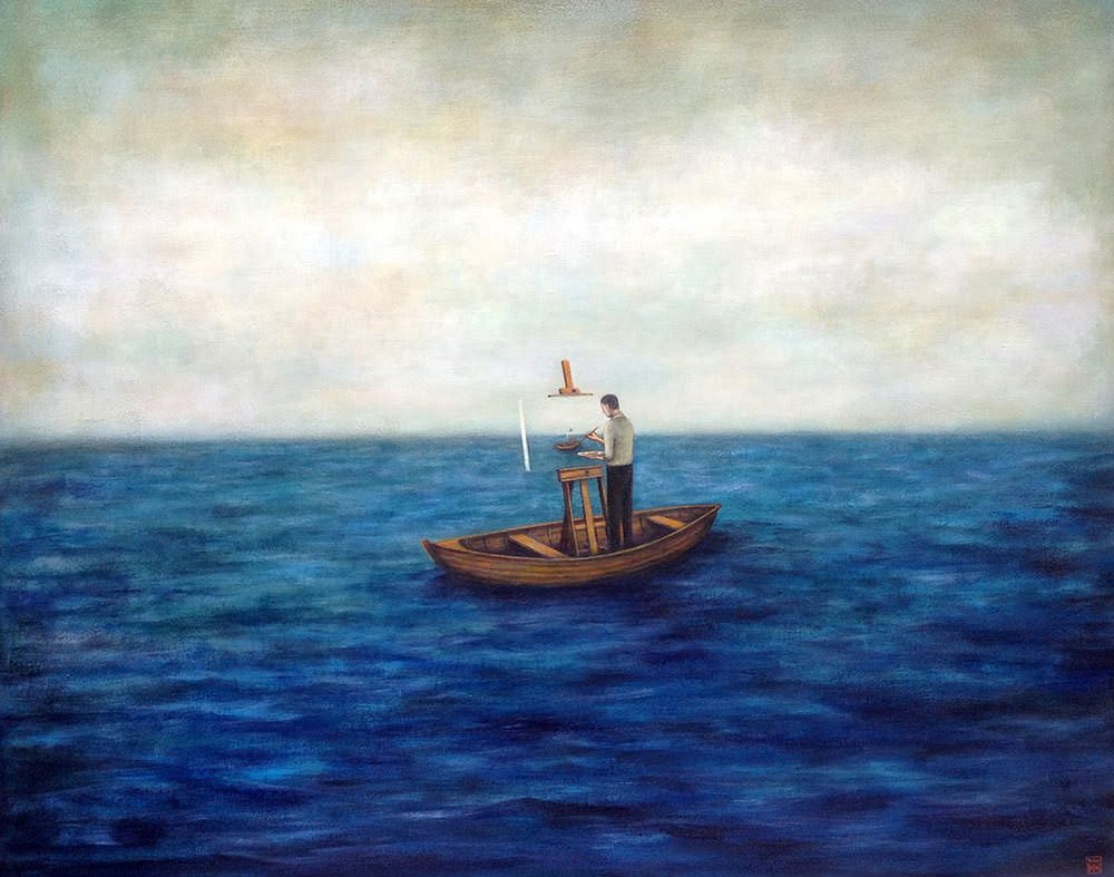 Poetic Acrylic Paintings by Duy Huynh