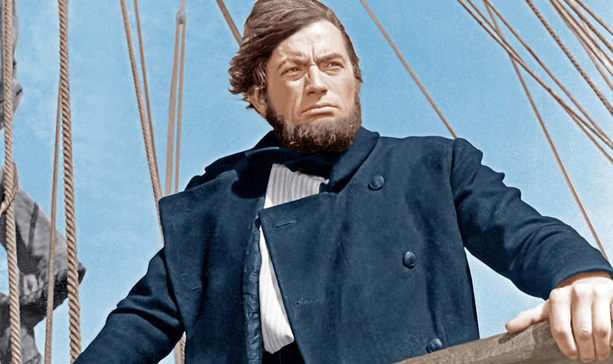 captain ahab and moby dick 3 open answers chapters 11–13 (a) birds show that moby dick is near captain ahab loses his whalebone leg when he fights moby dick ropes kill.