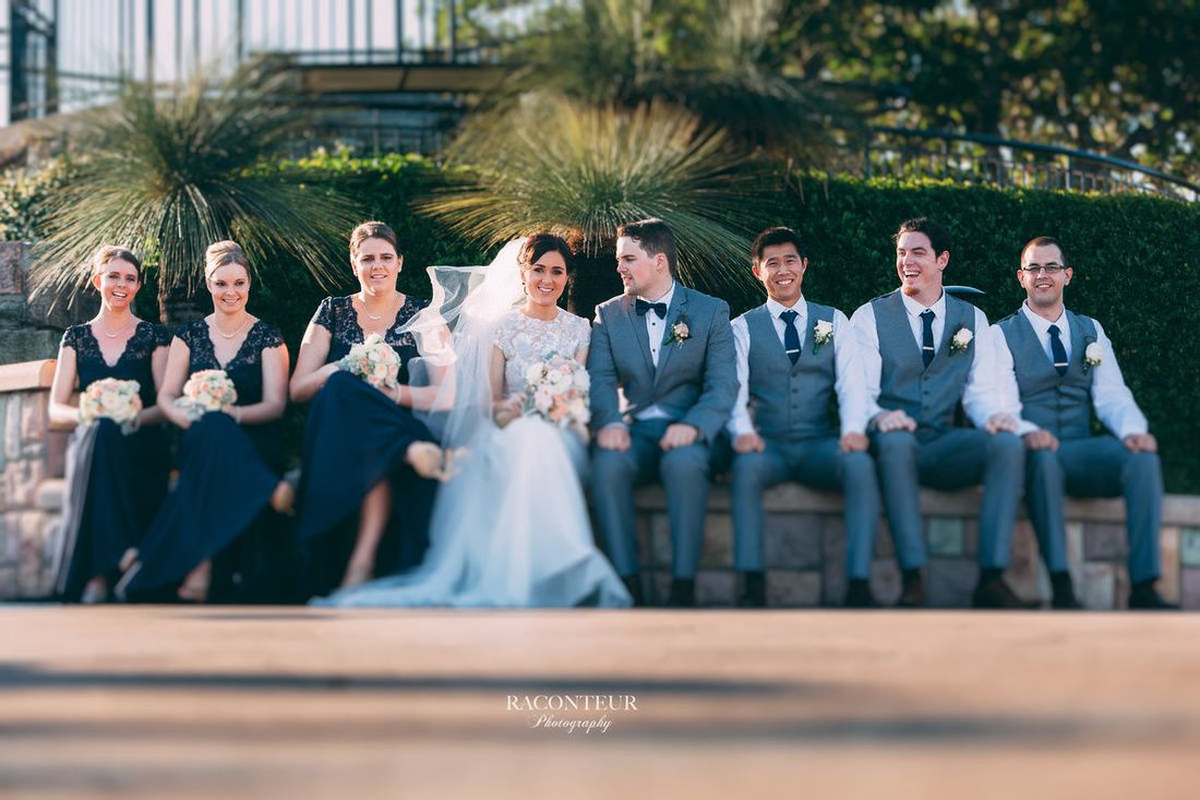 Margie and Rik's Wedding at the Summit Restaurant, Mt Coot-tha #dreamweddings http://www.brisbanelookout.com