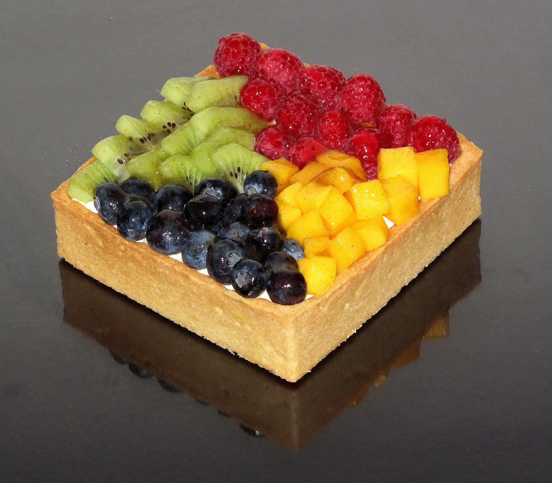 Tarta de frutas Fruit pie www.facebook.com/RicaPasteleriaCake www.ricapasteleria.com