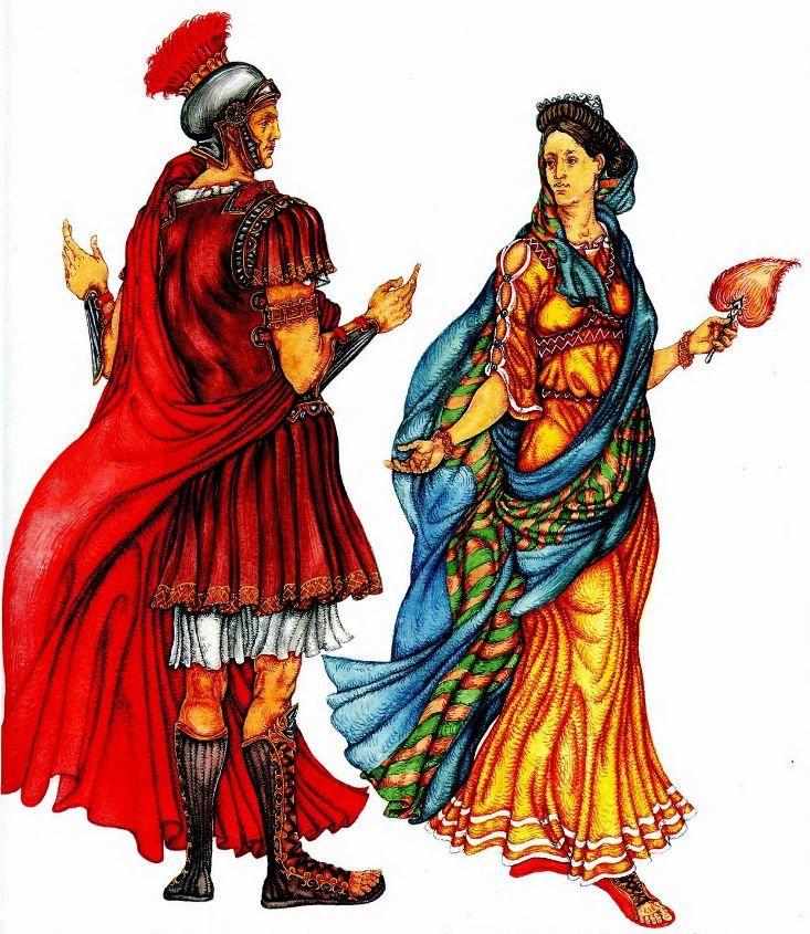 Туника римлян