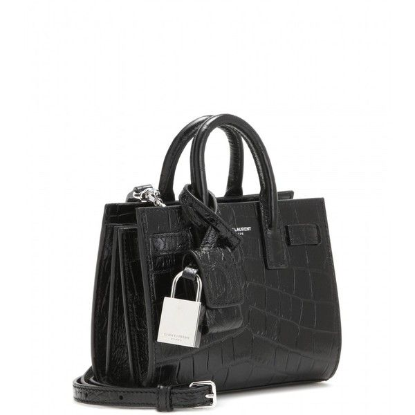 a57f466b8 Saint Laurent Classic Toy Sac De Jour Shoulder Bag ($1,010) ❤ liked on  Polyvore featuring bags, handbags, shoulder bags, black purse, yves saint  laurent, ...