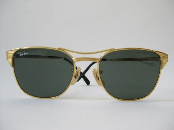 77a17c1611e3d Vintage Ray Bans - a bit bling bilng for me